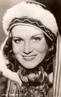 Actress Aino Taube, filmography.