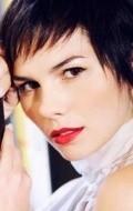 Actress Carla Chambel, filmography.