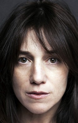 Actress, Writer Charlotte Gainsbourg, filmography.