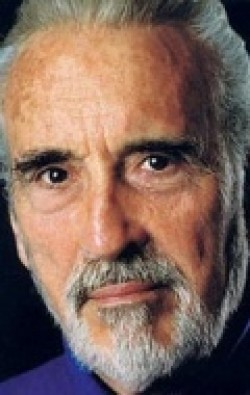 Actor, Producer Christopher Lee, filmography.