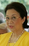 Actress Corazon Aquino, filmography.