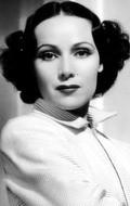 Actress Dolores del Rio, filmography.