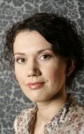 Actress Elisabet Tamm, filmography.