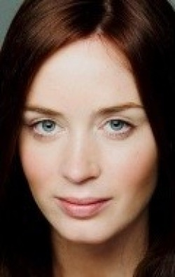 Actress Emily Blunt, filmography.