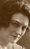 Actress Eve Francis, filmography.