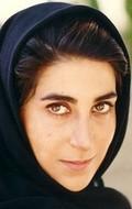 Actress Fatemah Motamed-Aria, filmography.