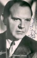 Actor Fernand Ledoux, filmography.