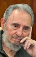 Actor Fidel Castro, filmography.