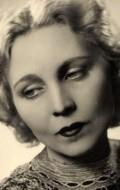 Actress Hilde Korber, filmography.