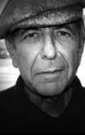 Actor, Composer, Writer Leonard Cohen, filmography.
