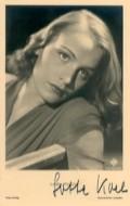Actress Lotte Koch, filmography.