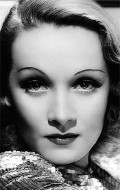 Actress Marlene Dietrich, filmography.