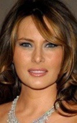 Actress Melania Trump, filmography.
