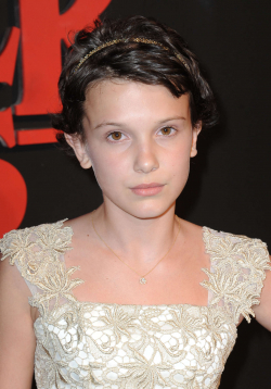 Actress Millie Bobby Brown, filmography.