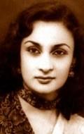 Actress Nadira, filmography.