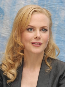 Actress, Producer Nicole Kidman, filmography.