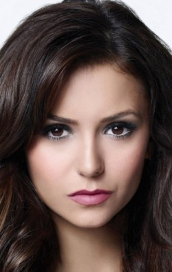 Actress Nina Dobrev, filmography.