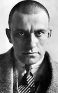 Writer, Actor, Director Vladimir Mayakovsky, filmography.