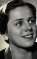 Actress Vlasta Matulova, filmography.