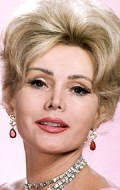 Actress Zsa Zsa Gabor, filmography.