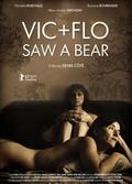 Vic + Flo ont vu un ours - wallpapers.