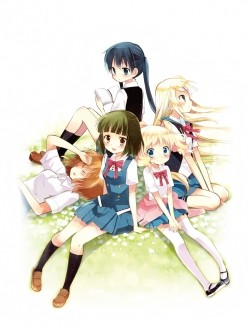 Kin`iro Mosaic - wallpapers.