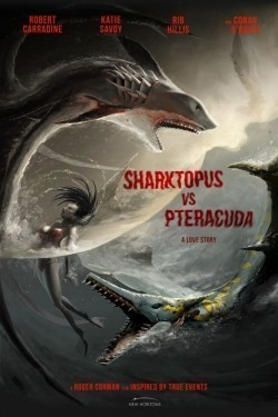 Sharktopus vs. Pteracuda - wallpapers.