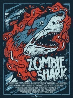 Zombie Shark - wallpapers.