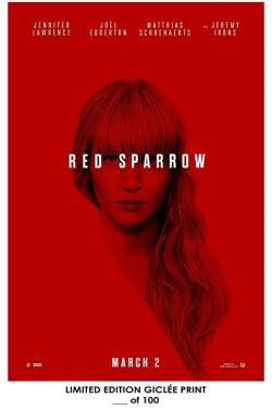 Red Sparrow pictures.