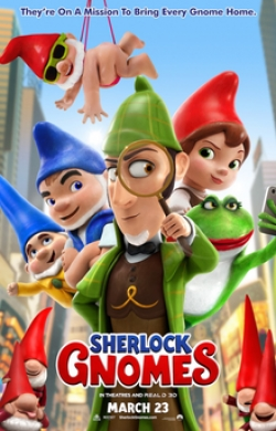 Sherlock Gnomes pictures.