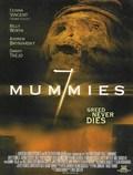 Seven Mummies - wallpapers.